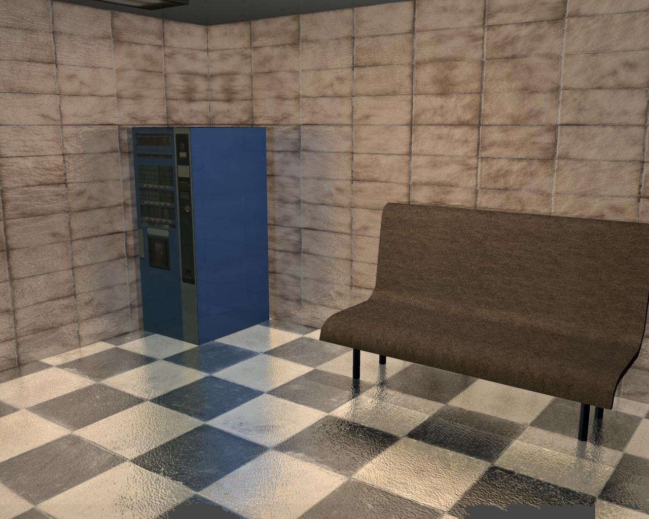 tourist office 3d model 3ds 165613