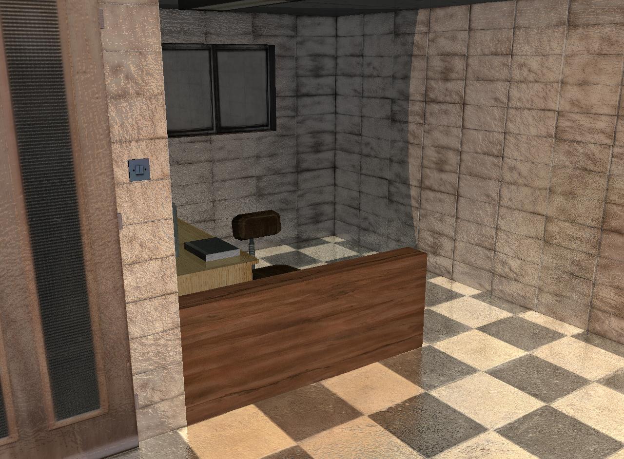 tourist office 3d model 3ds 165614