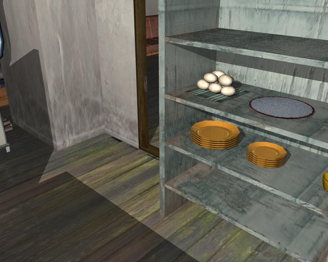 wooden house 2 3d model 3ds 166200