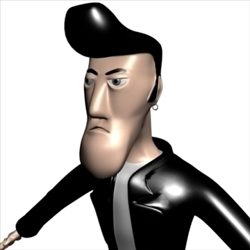 billy 3d modell 3ds max dxf obj 105509
