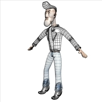billy 3d modell 3ds max dxf obj 105510