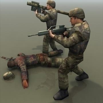 bundeswehr_infantry 3d model 3ds max fbx lwo ma mb hrc xsi obj 99242