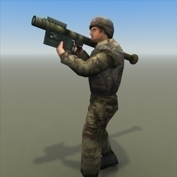 bundeswehr_infantry 3d model 3ds max fbx lwo ma mb hrc xsi obj 99244