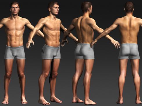 Daniel - Male Character  ( 169.68KB jpg by Behr_Bros. )