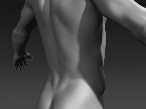 Daniel - Male Character  ( 79KB jpg by Behr_Bros. )