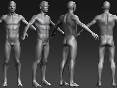 Daniel - Male Character  ( 111.77KB jpg by Behr_Bros. )