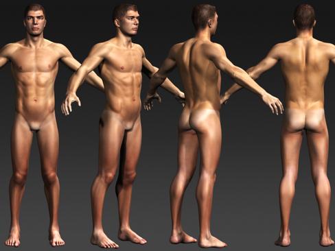 Daniel - Male Character  ( 174.99KB jpg by Behr_Bros. )