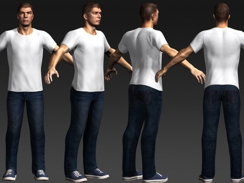 Daniel - Male Character  ( 151.97KB jpg by Behr_Bros. )