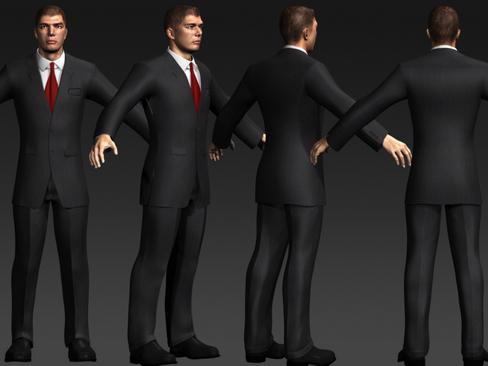 Daniel - Male Character  ( 126.74KB jpg by Behr_Bros. )