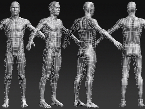 Daniel - Male Character  ( 144.6KB jpg by Behr_Bros. )