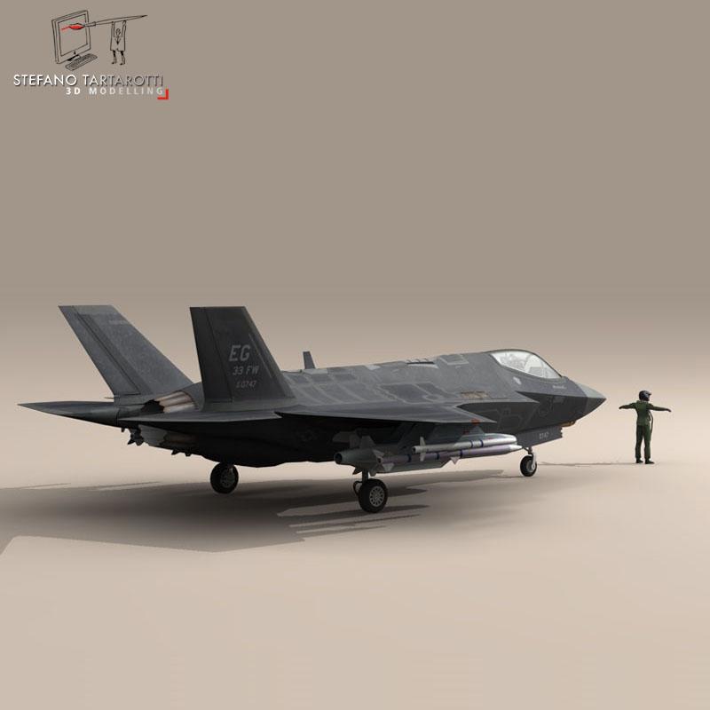 F 35 A USAF ( 64.33KB jpg by tartino )