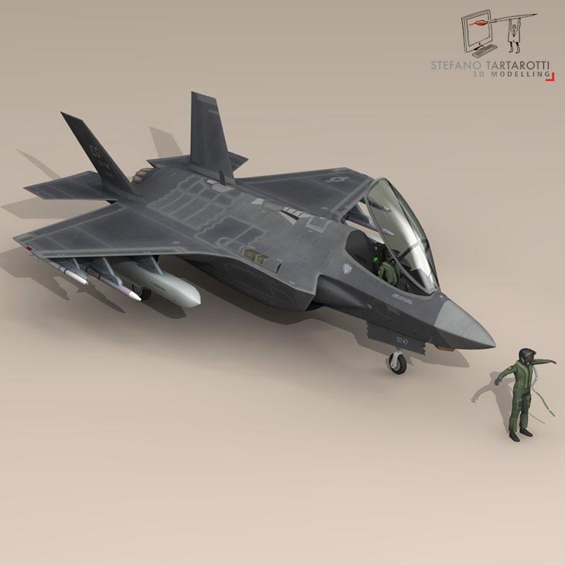F 35 A USAF ( 71.31KB jpg by tartino )