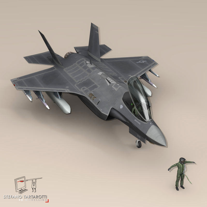F 35 A USAF ( 72.98KB jpg by tartino )
