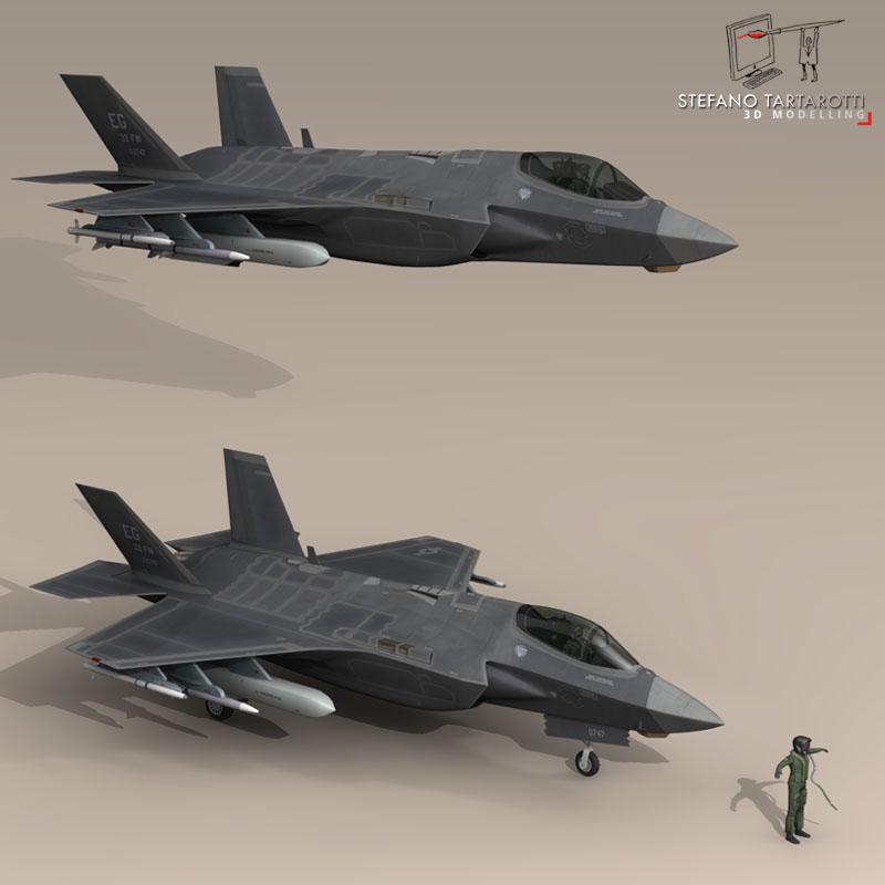 F 35 A USAF ( 75.58KB jpg by tartino )