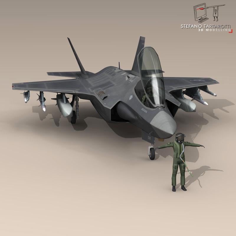 F 35 A USAF ( 74.58KB jpg by tartino )