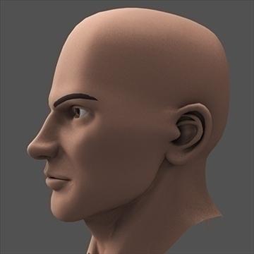 hero head 3d model c4d lwo obj 89618