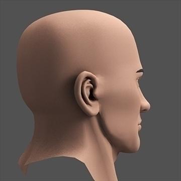 hero head 3d model c4d lwo obj 89619