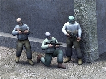 iraqi insurgents_game 3d model 3ds max lwo ma mb obj 99401