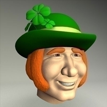 leprechaun.zip 3d model 3ds dxf fbx c4d drugi obj 83687