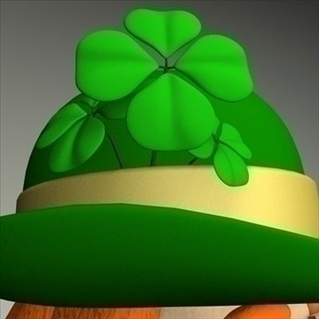 leprechaun.zip 3d model 3ds dxf fbx c4d other obj 83689