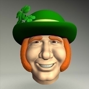 leprechaun.zip 3d model 3ds dxf fbx c4d other obj 83690