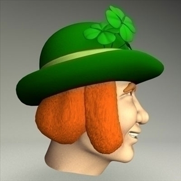 leprechaun.zip 3d model 3ds dxf fbx c4d other obj 83691