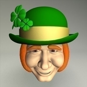 leprechaun.zip 3d model 3ds dxf fbx c4d other obj 83692