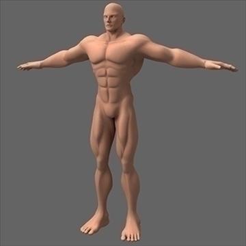 férfi szuperhős 3d modell c4d lwo obj 89562