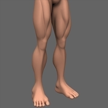 male superhero 3d model c4d lwo obj 89567