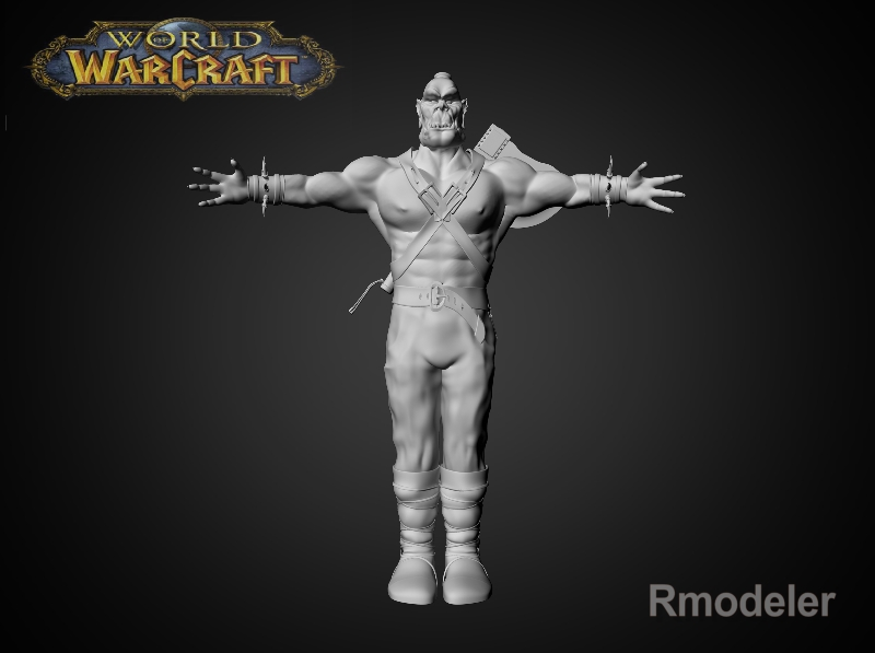 red ork ax 3d model fbx dae ma mb obj 116556
