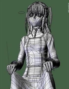 shidou maria 3d загварын холимог 108324