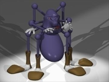 людина-павук 3d модель 3ds dxf lwo 80824
