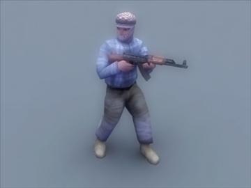 террорист 3d тоглоом 3d загвар 3ds max 99411