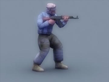террорист 3d тоглоом 3d загвар 3ds max 99412