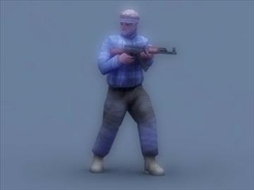 террорист 3d тоглоом 3d загвар 3ds max 99413