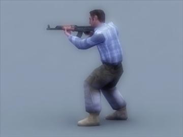 террорист 3d тоглоом 3d загвар 3ds max 99414