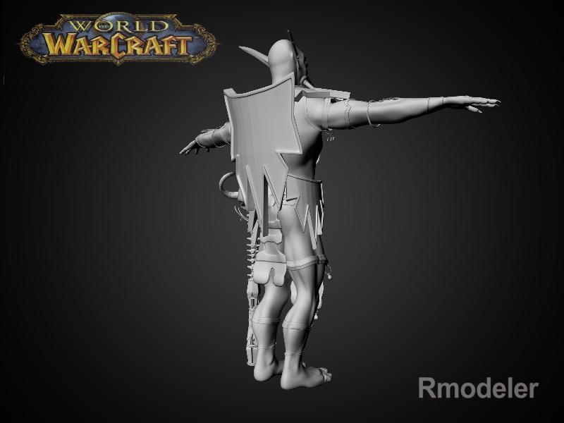 troll shaman iknra 3d líkan fbx daga með mb obj 116609