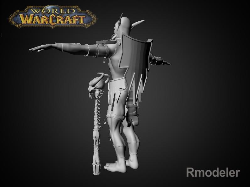troll shaman iknra 3d líkan fbx daga með mb obj 116611