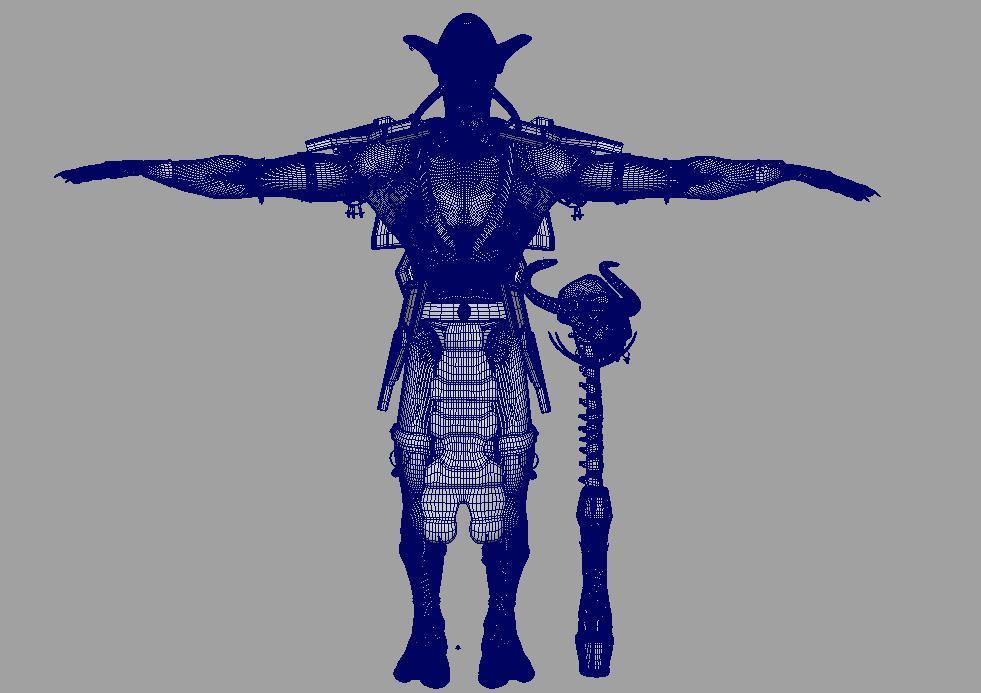 troll shaman iknra 3d líkan fbx daga með mb obj 116614