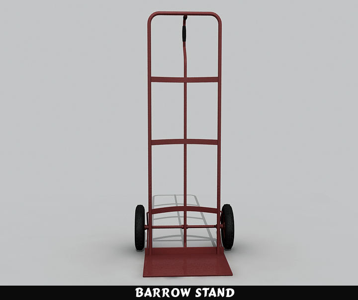 barrow stand 3d model 3ds max fbx obj 116784