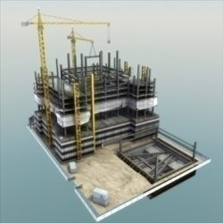 BuildingSite 01 3D Model ( 80.42KB jpg by 3DArtisan )