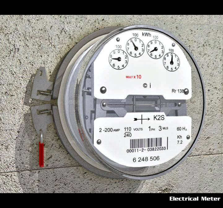electrical meter 3d model 3ds max obj 115546