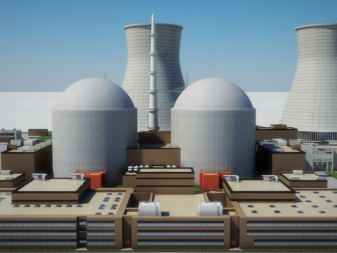 nuclear power plant 3d model 3ds max c4d lwo ma mb obj 118242