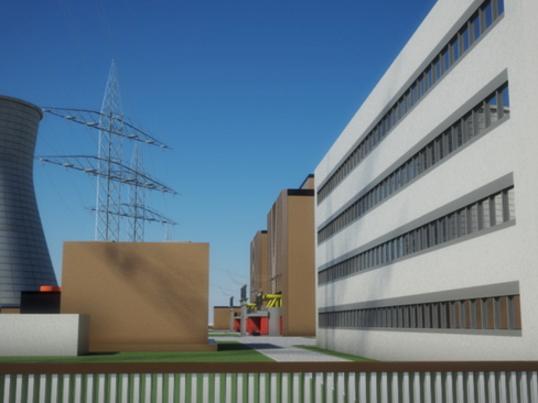 nuclear power plant 3d model 3ds max c4d lwo ma mb obj 118244