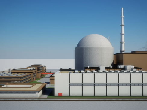 nuclear power plant 3d model 3ds max c4d lwo ma mb obj 118251