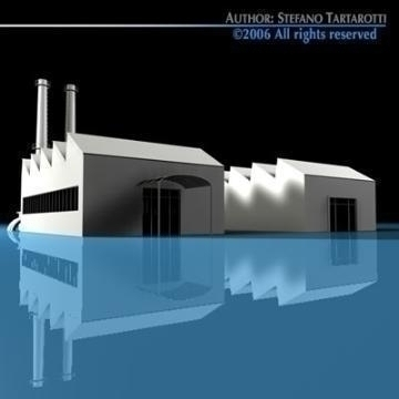 stilizedcity-factory 3d model 3ds dxf c4d obj 78589
