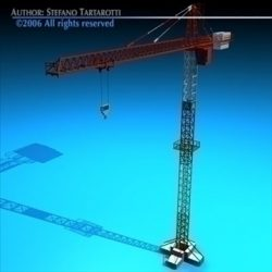 Tower crane ( 62.11KB jpg by tartino )