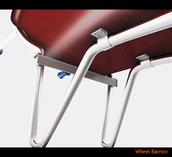 wheel barrow 3d model 3ds max fbx obj 115598