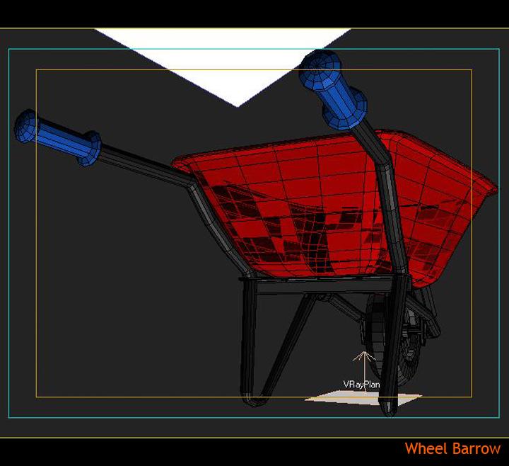 wheel barrow 3d model 3ds max fbx obj 115605