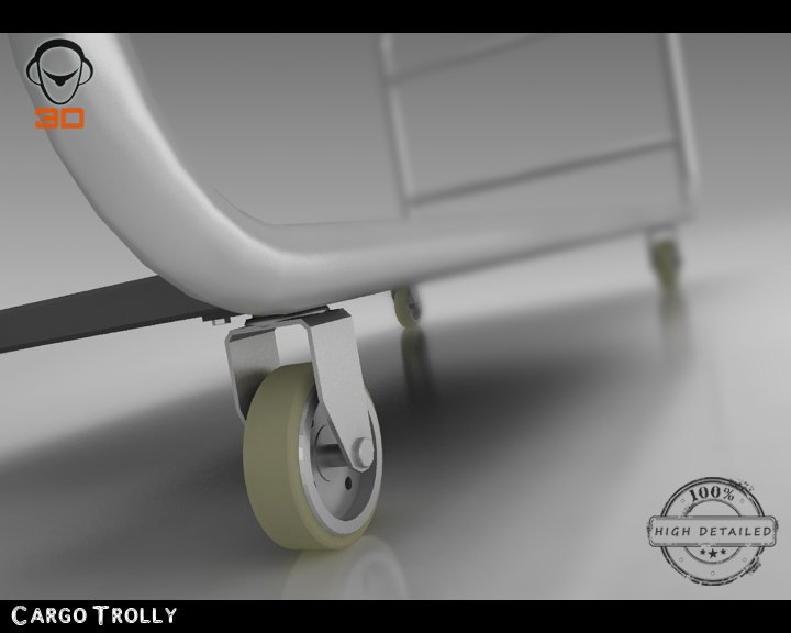 cargo trolly 3d model 3ds max fbx obj 142067